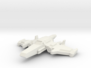 Mavon Superiority Fighter in White Strong & Flexible