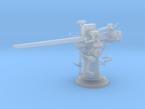 1/72 USN 3'' /50 [7.62 Cm] Cal. Deck Gun in Frosted Ultra Detail: 1:72