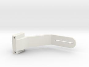 Uber Modded Gimbal Arm in White Natural Versatile Plastic