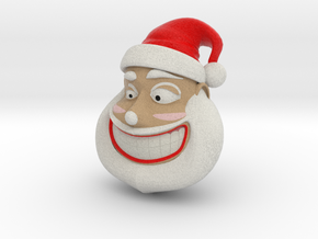 santa claus in Full Color Sandstone
