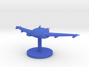 Bat Class in Blue Processed Versatile Plastic