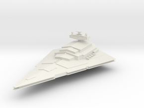 Star Destroyer in White Strong & Flexible