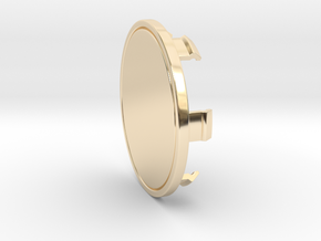 85mm Cap in 14k Gold Plated Brass