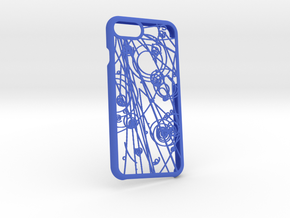Quantum Touch - Iphone 7 Case in Blue Processed Versatile Plastic