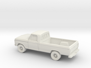 1/87 1979 Ford F-Series in White Natural Versatile Plastic