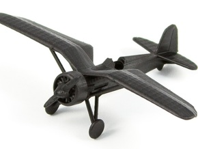 1/144 PZL P11 in Black Hi-Def Acrylate