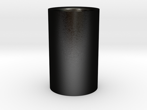 MOKA CUP in Matte Black Steel