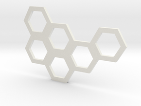 Hive Mind (Piece 21) in White Natural Versatile Plastic