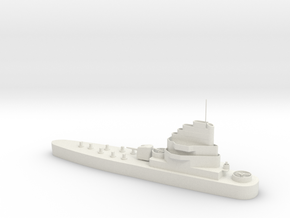 1/285 Scale USS Carronade IFS-1 in White Strong & Flexible