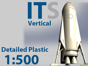 ITS 500 Vertical Detailed Plastic in Frosted Ultra Detail