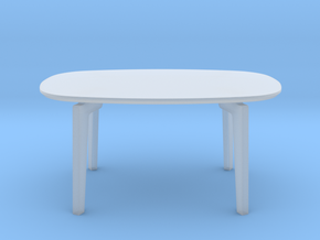 Miniature Join Coffee Table FH01 in Smooth Fine Detail Plastic: 1:48