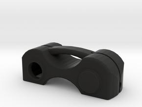 Brera, Spider, 159 Key Cap. in Black Natural Versatile Plastic