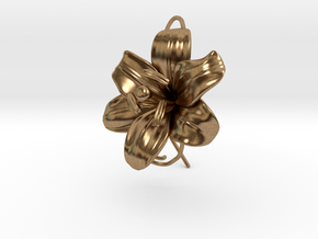 AirCharm Lily Flower - Right in Natural Brass