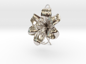 AirCharm Lily Flower - Right in Platinum