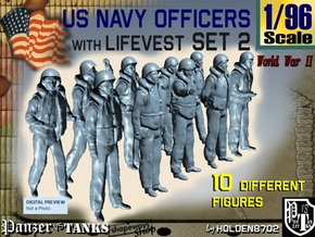 1-96 USN Officers KAPOK Set2 in Frosted Ultra Detail