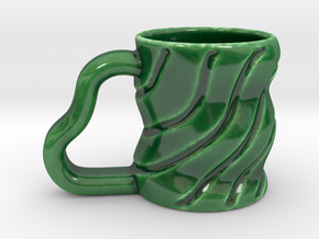 Hangover Cup  in Gloss Oribe Green Porcelain