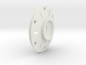 Disc for 2015 with Pulley in White Natural Versatile Plastic
