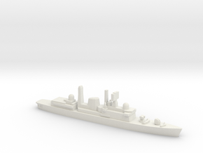 Type 42 DDG (Falklands War), 1/2400 in White Natural Versatile Plastic