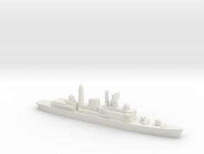 Type 42 DDG (Falklands War), 1/1800 in White Natural Versatile Plastic