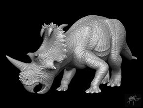 Coronosaurus/Centrosaurus brinkmani 1/40 Eat in White Strong & Flexible