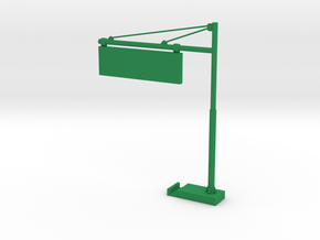 Pole for Signage in Green Processed Versatile Plastic