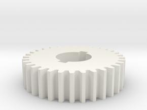 32T Atlas 618/Craftsman 101 Change Gear in White Natural Versatile Plastic