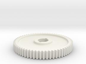 64T Atlas 618/Craftsman 101 Change Gear in White Natural Versatile Plastic