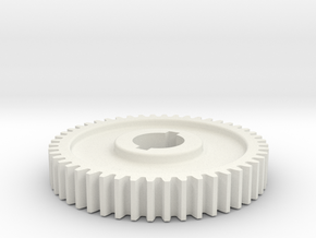 48T Atlas 618/Craftsman 101 Change Gear in White Natural Versatile Plastic