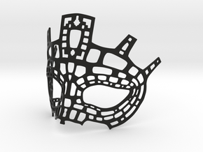Fine Mask in Black Natural Versatile Plastic