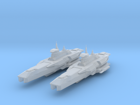 Araan Dynasty Heavy Cruiser 2 Pack in Frosted Ultra Detail