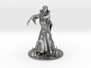 Mind Flayer Miniature in Natural Silver: 1:60.96