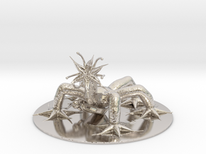 Hiver Miniature in Rhodium Plated Brass: 1:60.96