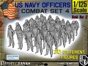 1-125 USN Officers KAPOK Set4 in Frosted Ultra Detail