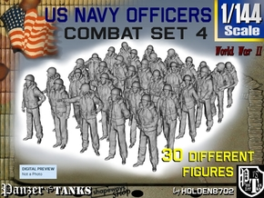 1-144 USN Officers KAPOK Set4 in Frosted Extreme Detail