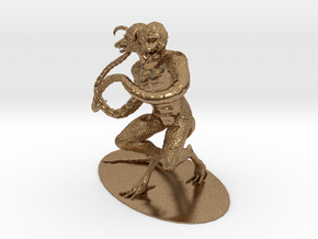 Demogorgon Miniature in Natural Brass: 1:60.96