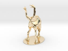 Pierson's Puppeteer Miniature in 14K Yellow Gold: 1:60.96