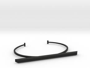 Bracelet in Black Natural Versatile Plastic
