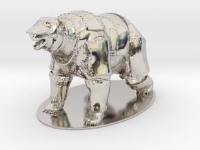 Panserbjørne Miniature in Platinum: 1:60.96