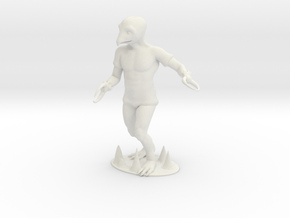 Crabman Miniature in White Natural Versatile Plastic: 1:60.96