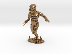 Crabman Miniature in Natural Brass: 1:60.96