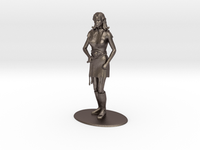 Elven Magic-User Miniature in Stainless Steel
