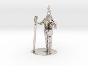 Vermin Supreme Miniature in Platinum: 1:60.96