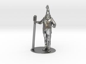 Vermin Supreme Miniature in Raw Silver: 1:60.96