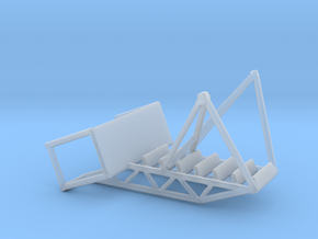 1/144 Scale Maintenance Stand 2 in Smooth Fine Detail Plastic