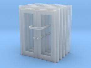 Door Type 13 - 760D X 2000 X 5 in Smooth Fine Detail Plastic: 1:160