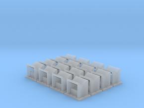Angled Spark Arrestor (N - 1:160) 16X in Smoothest Fine Detail Plastic