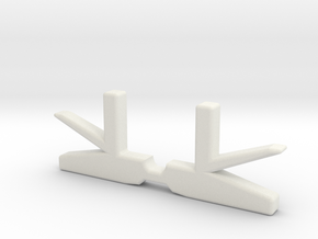 V2 Switch plunger replacement in White Natural Versatile Plastic