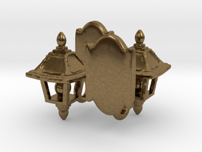 Lamp Sconce Studs in Natural Bronze