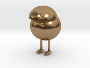 The Little Fella in Natural Brass