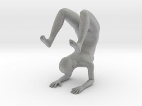 Yoga Scorpion Pose Phone Stand - 0.8mm Thickness in Metallic Plastic